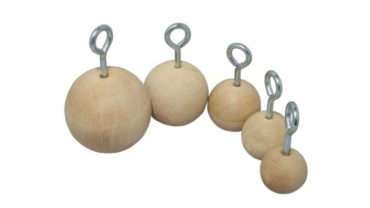 dřevěné koule ocr fitness vybavení wooden balls ocr equipment